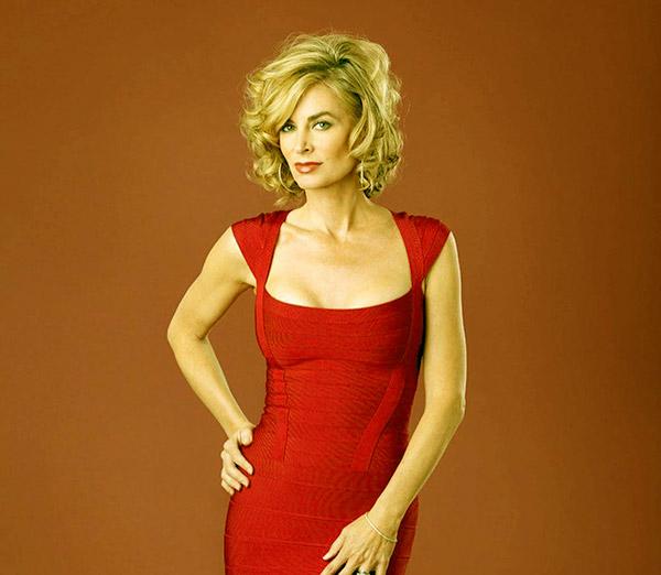 Image of American actress, Eileen Davidson