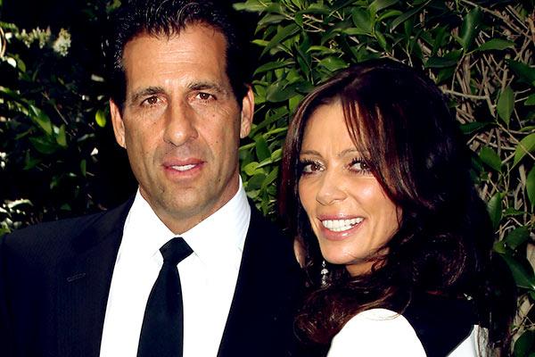 Image of Carlton and ex-husband, David Gebbia
