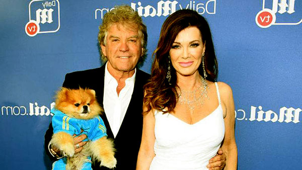 Image of Caption: Lisa Vanderpump is living an idealistic married life with her husband, Kenn Todd.