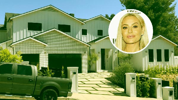 Image of Dorit and Paul Kemsley's Encino mansion