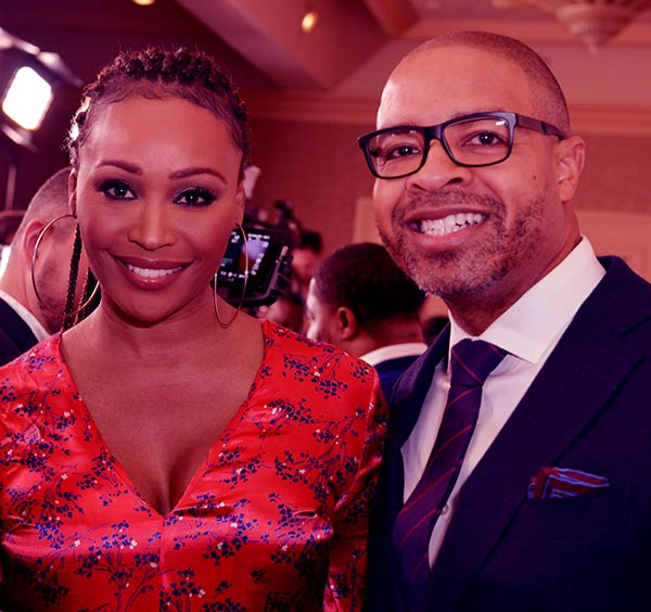 Image of Caption: Cynthia Bailey and Mike Hill are Engaged