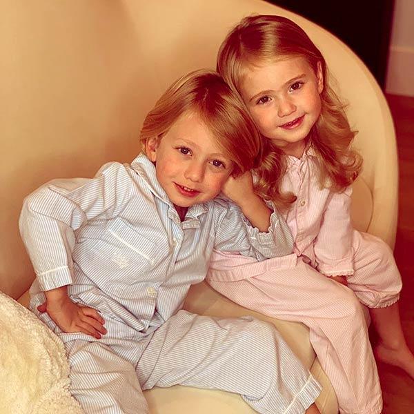 Image of Dorit's children, Jagger and Phoenix