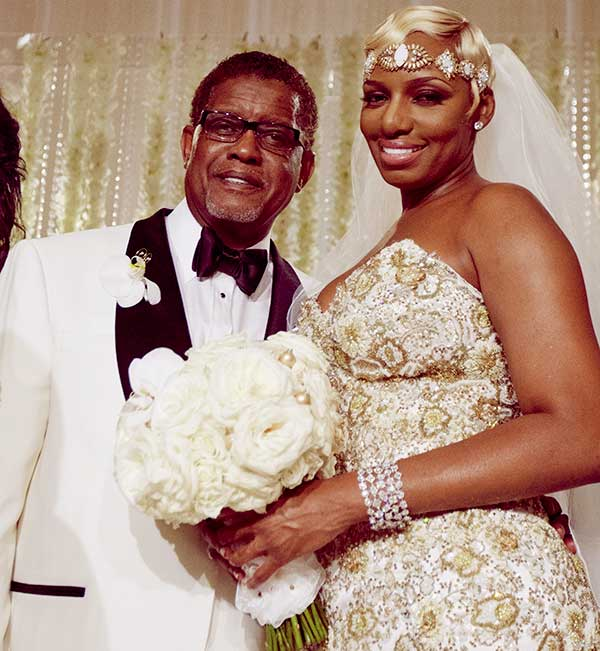 Image of Caption: NeNe and Gregg remarried in 2013