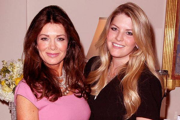 Image of Caption:Lisa Vanderpump with her daughter, Pandora Todd.