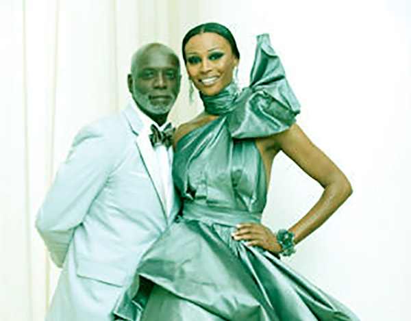 Image of Caption:Cynthia and her ex-husband Peter Thomas