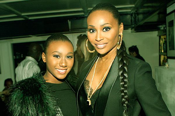 Image of Caption: Cynthia and Leon Robinson's Daughter, Noelle