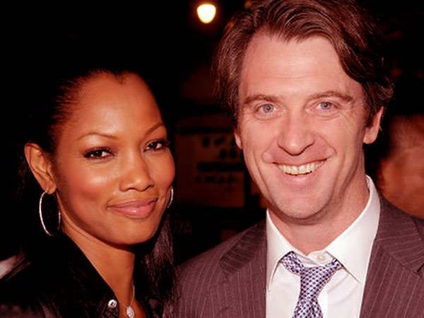 Image of Garcelle Beauvais with her ex-husband Mike Nikon.
