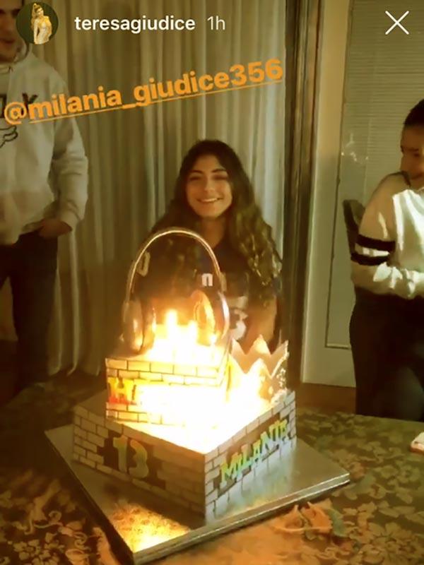 Image of Caption: Milania's 13th Birthday celebrated on 2nd February 2019
