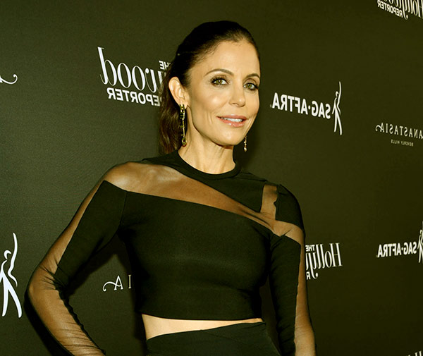 Image of Caption: The Real Housewives of New York City cast Bethenny Frankel