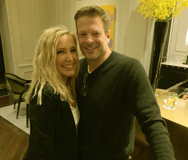 Image of Caption: David Beador with his ex-wife Shannon Beador