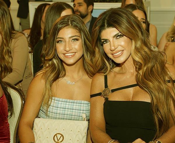 Image of Caption: Gia Giudice with her mother Teresa Giudice