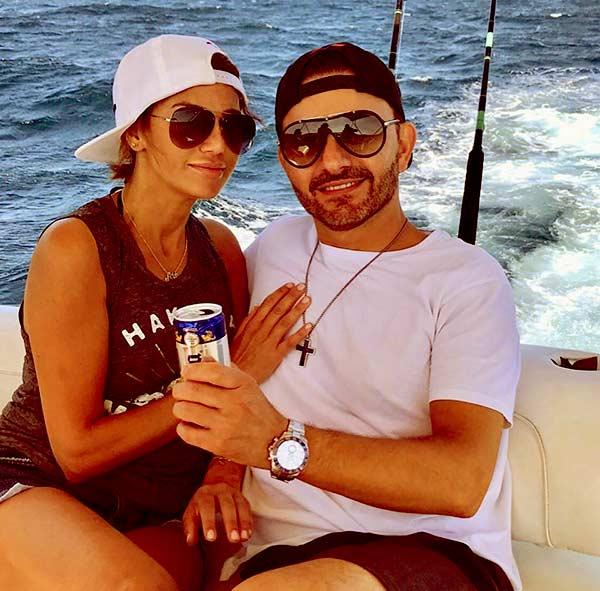 Image of Caption: Peggy Sulahian with her husband DikoSulahian