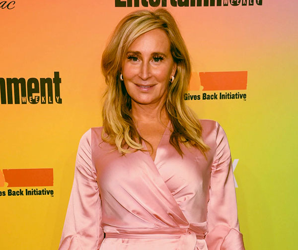 Image of Caption: The Real Housewives of New York City cast Sonja Morgan