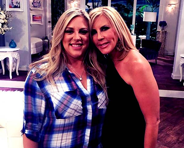 Image of Caption: Vicki Gunvalson with her daughter Briana Culberson