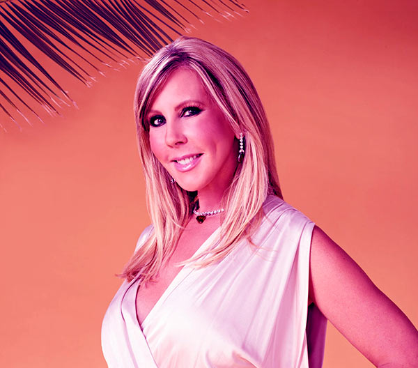 Image of Caption: American TV personality, Vicki Gunvalson