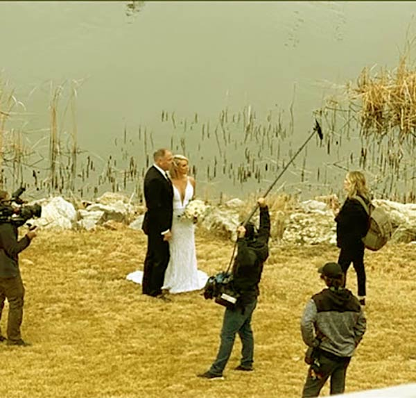 Image of Caption: Their wedding renewal vows was filmed by the Bravo TV.