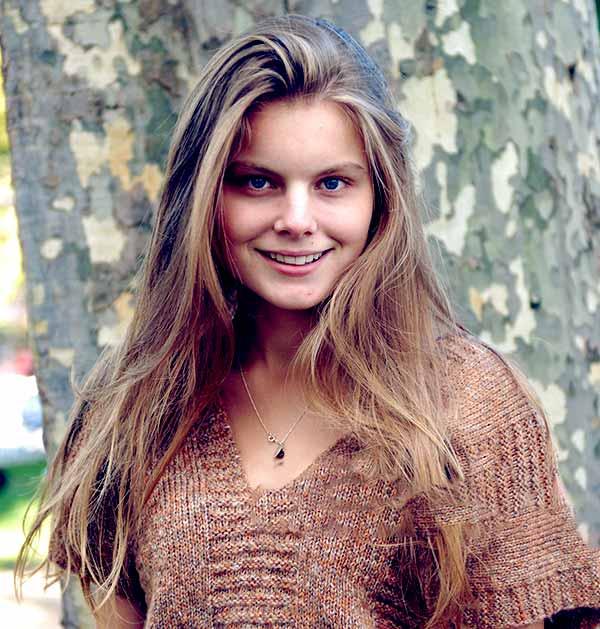 Image of Caption: Model, Christine Staub