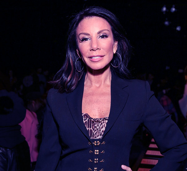 Image of Caption: Danielle Staub from the TV reality show The Real Housewives of New Jersey