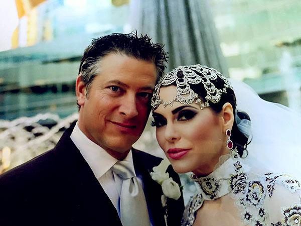 Image of Caption: D'Andra and husband Jeremy Lock