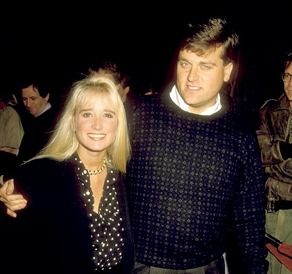 Image of Gregg Davis was holding a hand of his former wife Kim Richards in the late 1990s