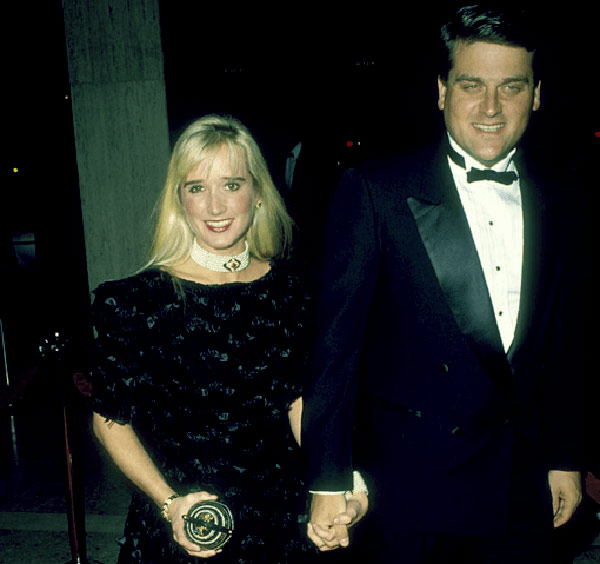 Image of Gregg Davis and Kim Richards were married from 1988 to 1991