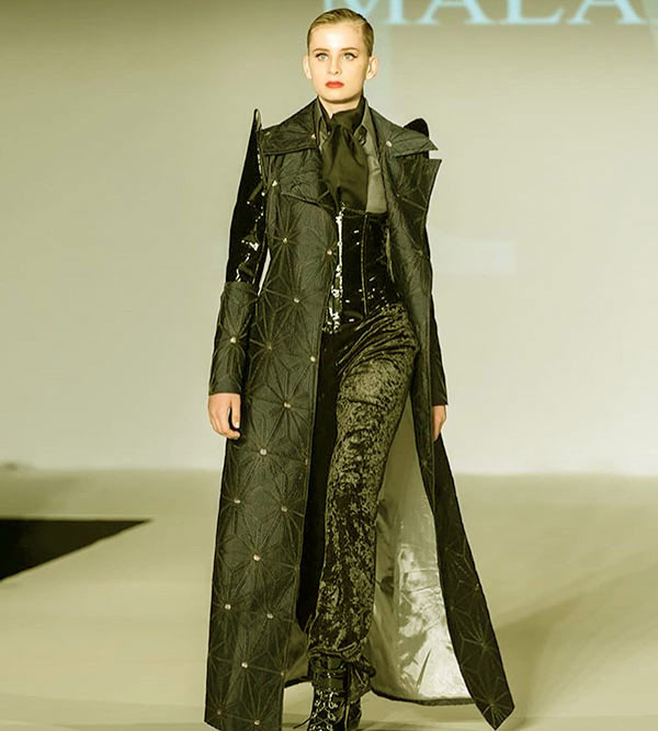 Image of Mason Olivia Grammer walked for Malan Breton show in 2018