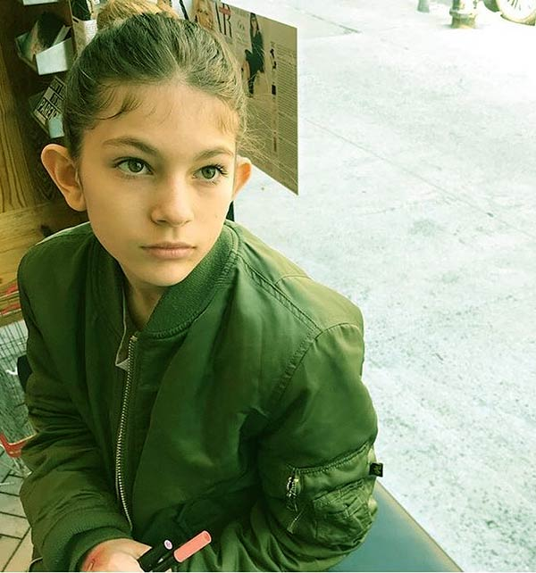 Image of Kier Marie aka Kiki is the daughter of RHONY star, Leah McSweeney