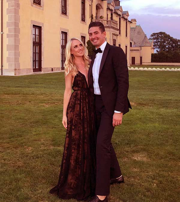 Image of Monty's daughter, Brooke and son-in-law, Thayer Wierderhorn got married in 2014