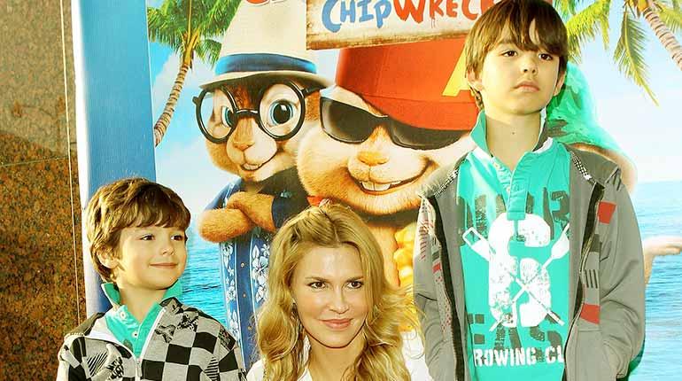Image of Brandi Glanville Kids: Meet Her Sons, Mason Edward Cibrian and Jake Austin Cibrian